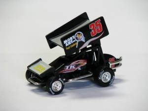 Ian Madsen #35 1/64 Scale Die Cast Sprint Car