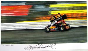 Jac Haudenschild Print at Knoxville 50th Nationals