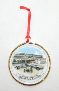 NSCHoF&M Round Porcelain Limited Edition Ornament
