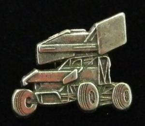 Pewter Sprintcar Hat Pin