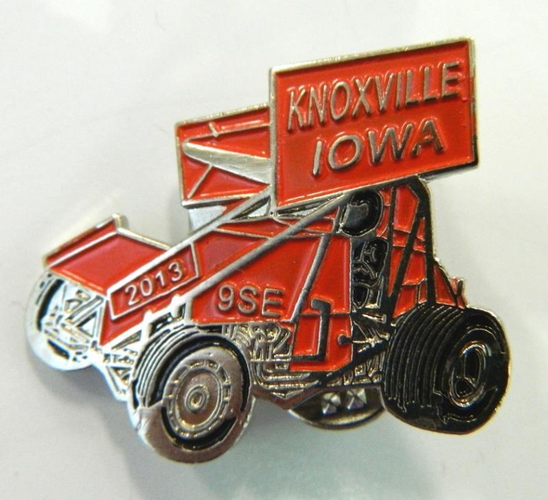 2013 Lion's Club Sprint Car Hat Pin