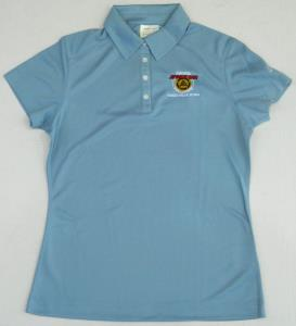 Ladies Nike Golf Polo - Powder Blue NSCHoF