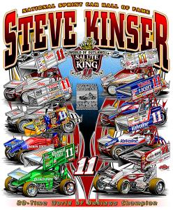 Steve Kinser - Salute to Champions Poster