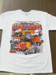 Salute to Champion Doug Wolfgang Tshirt - White