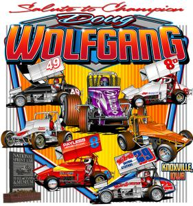 Salute To Champion Doug Wolfgang Poster
