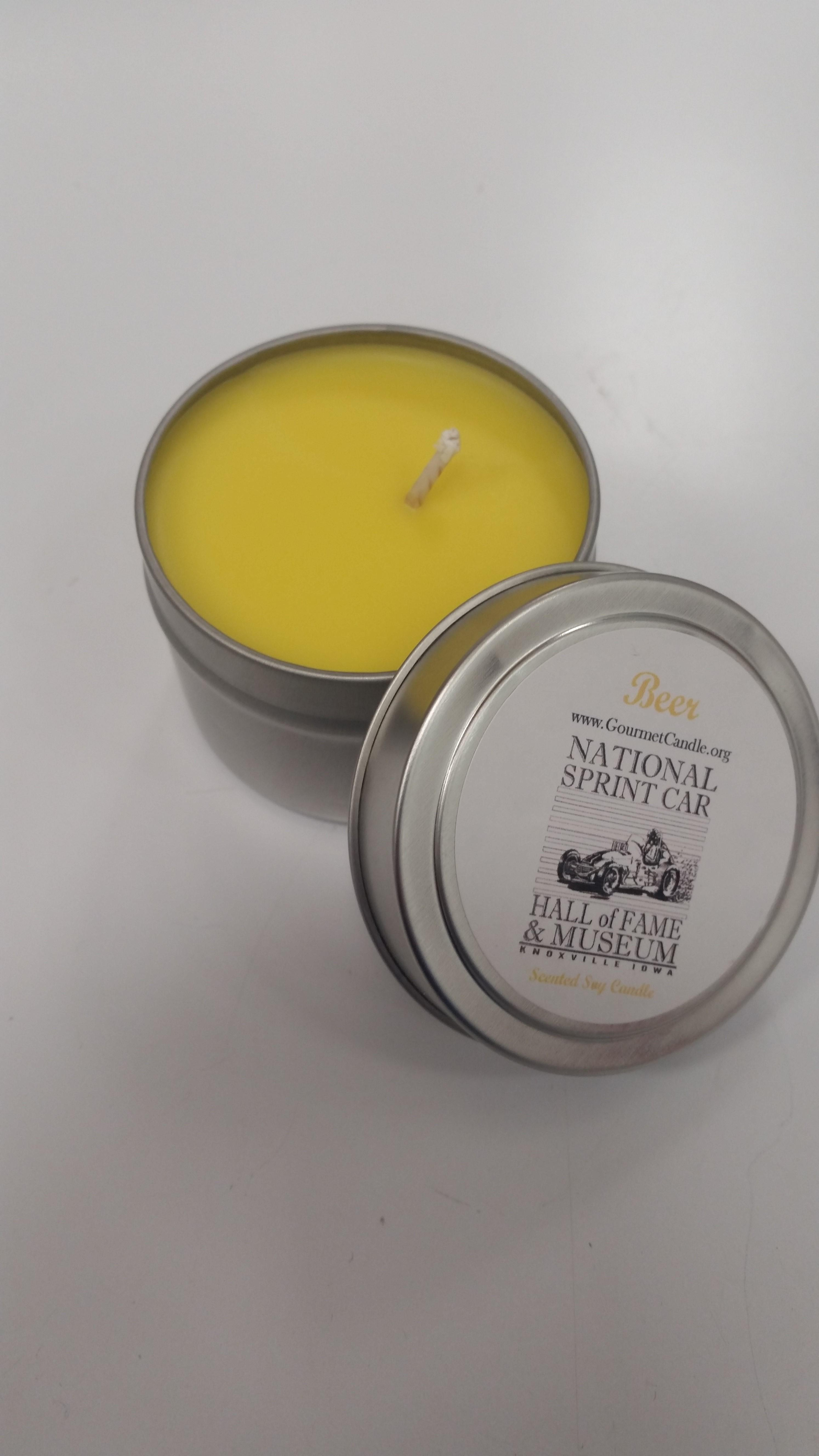 Gourmet Soy Candle - Beer Scent
