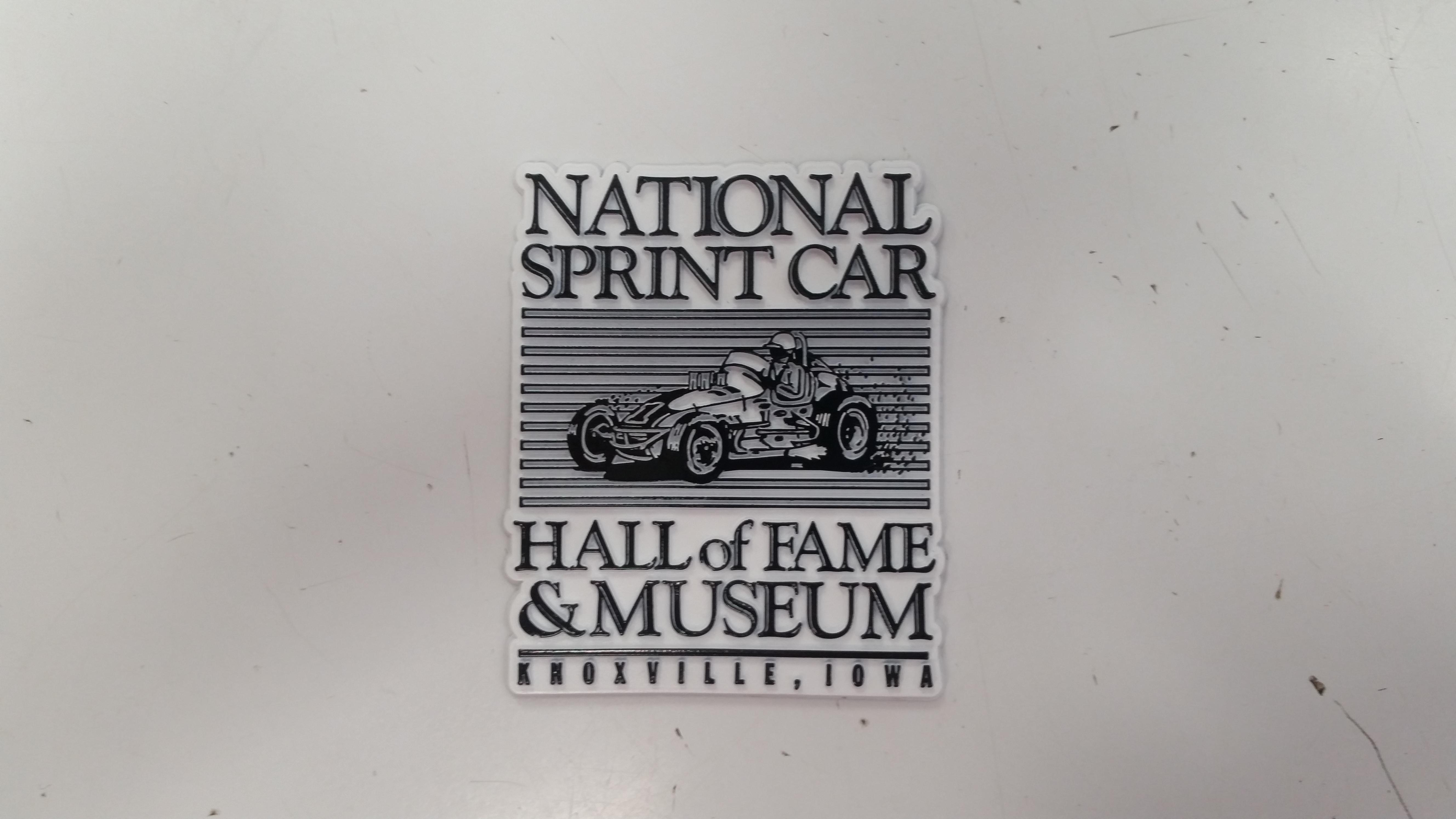 National Sprint Car Hall of Fame & Museum Magnet