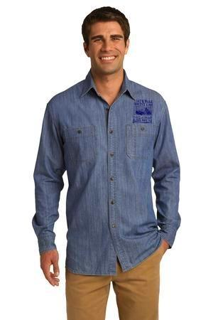 Patch Pocket Denim Shirts