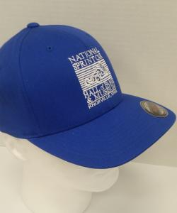 Royal Blue Flex Fit Cap - National Sprint Car Hall of Fame & Museum