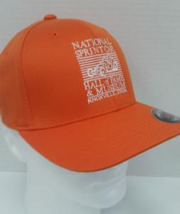 Orange Flex Fit Cap - National Sprint Car Hall of Fame & Museum