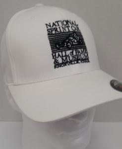 White Flex Fit Cap - NSCHoF