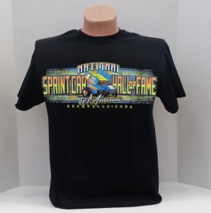 2016 National Sprint Car Hall of Fame & Museum Tshirt - Black