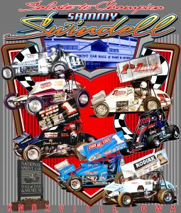 Salute to Champion Sammy Swindell T-Shirt - White