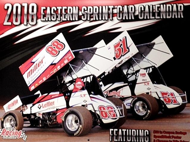 2018 Eastern Sprint Car Calendar