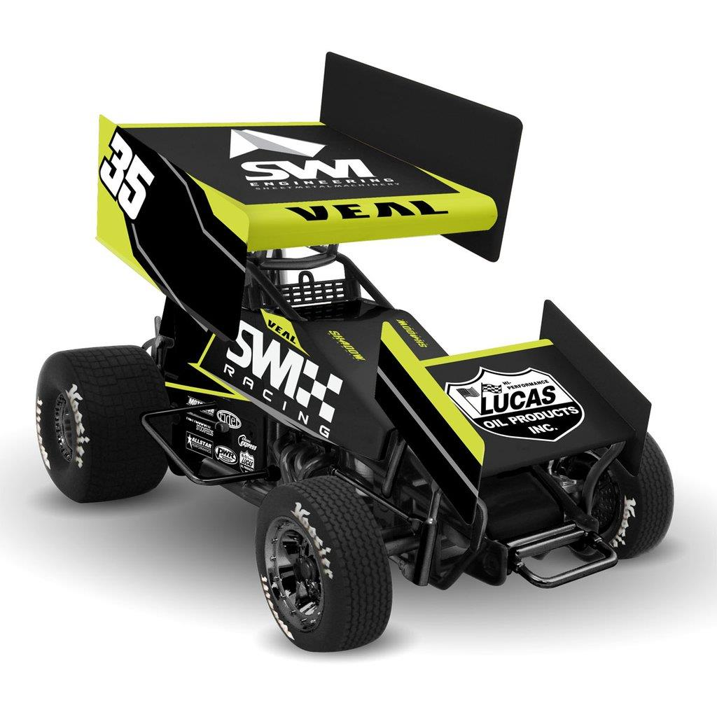 Jamie Veal 1/18th SWI Racing Die Cast