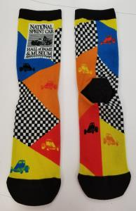 National Sprint Car Hall of Fame & Museum Socks - Non-Winged