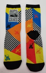 National Sprint Car Hall of Fame & Museum Socks - Winged Sprint Cars