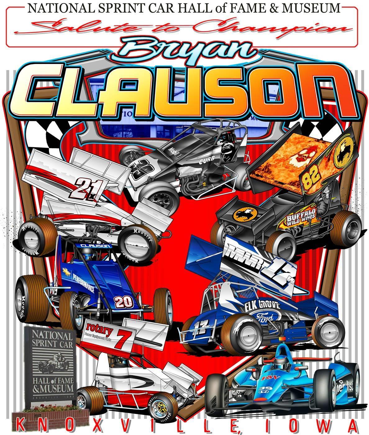 Salute To Champion Bryan Clauson - 8 X 10 Poster