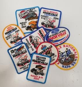 Past Knoxville Nationals Patches - Various Years