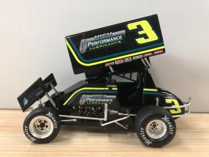 2018 Sammy Swindell 1/18 High Performance Lubricants Die Cast