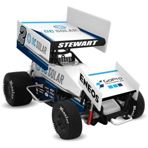 2018 Shane Stewart 1/64th Sprint Car DC Solar Die Cast
