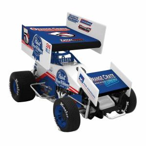 2017 Lucas Wolfe 1/64th Sprint Car Pabst Blue Ribbon Die Cast