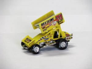 Doug Wolfgang #71m 1/64 Scale Die Cast Sprint Car