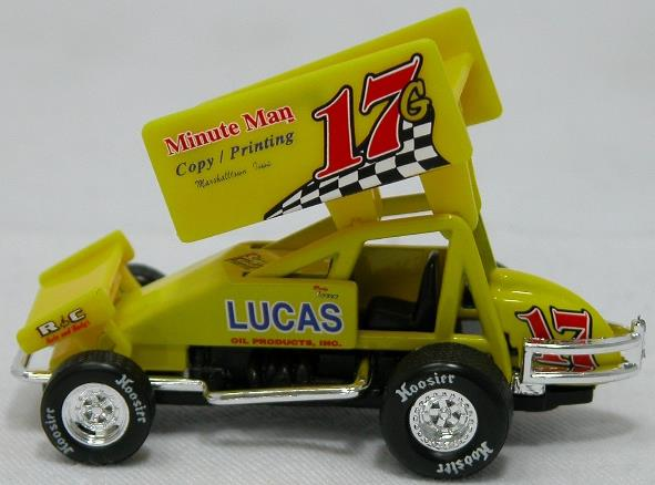Ricky Logan #17G 1/64 Scale Die Cast Sprint Car