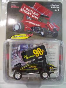 Jack McCorkell #98A 1/64 Scale Die Cast Sprint Car