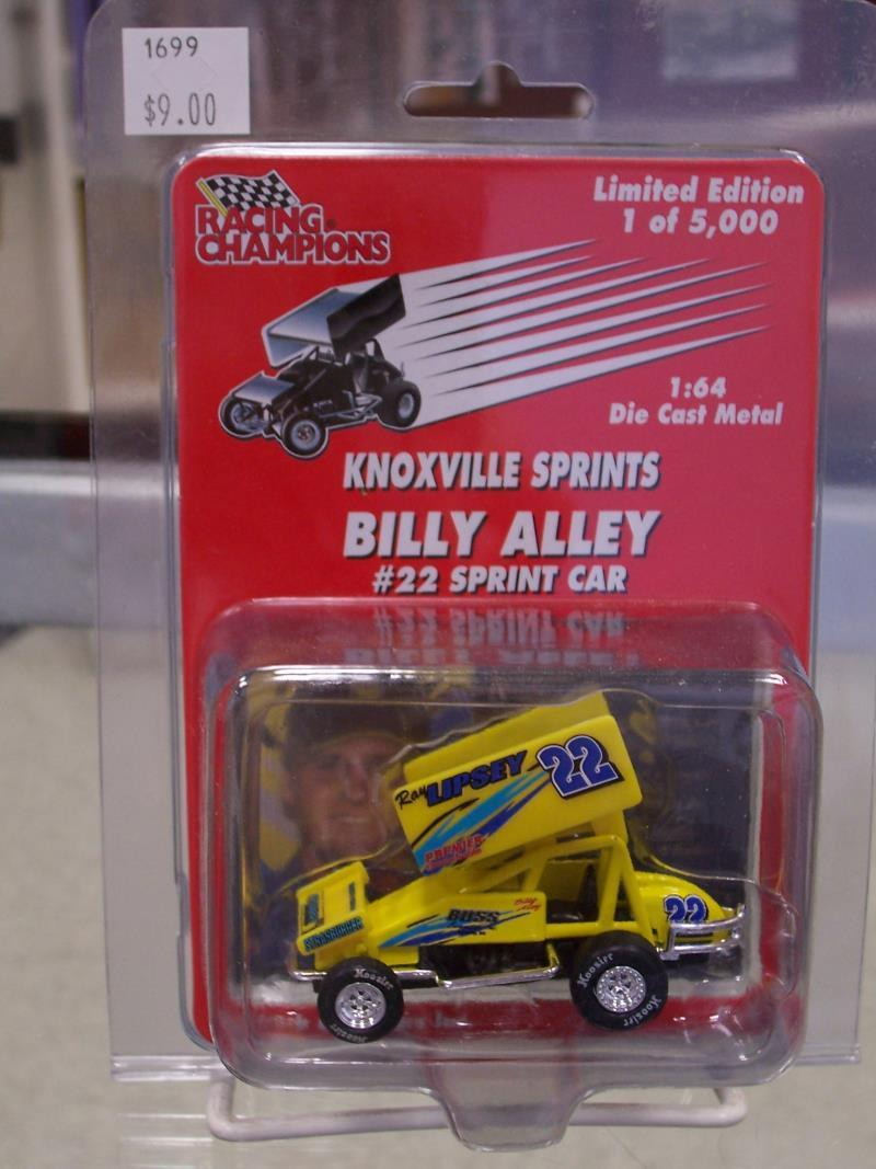 Billy Alley #22 1/64 Scale Die Cast Sprint Car