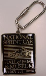 National Sprint Car Hall of Fame Keychain