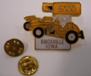 2000 Lions Club Hat Pin
