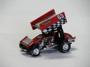 Ron Salter #63 1/64 Scale Die Cast Sprint Car