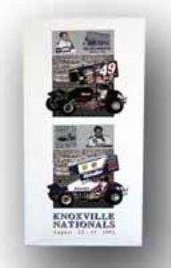 1992 Knoxville Nationals Poster