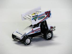 Robbie Farr #7 1/64 Scale Die Cast Sprint Car